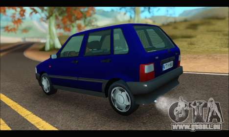 Zastava Yugo Uno pour GTA San Andreas laissé vue