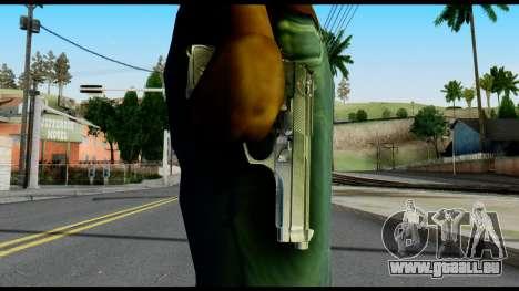 Beretta from Max Payne pour GTA San Andreas troisième écran