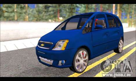 Chevrolet Meriva pour GTA San Andreas