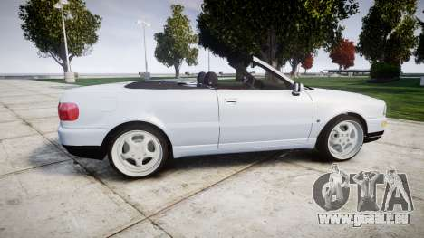 Audi 80 Cabrio euro tail lights für GTA 4 linke Ansicht