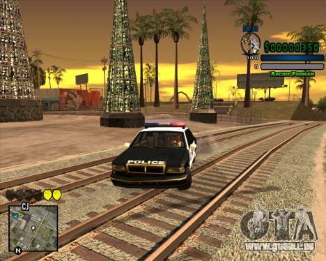 C-HUD Excellent für GTA San Andreas