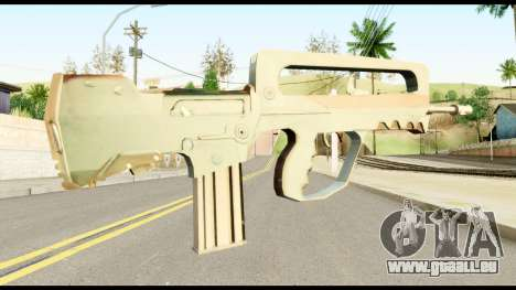 Famas from Metal Gear Solid für GTA San Andreas zweiten Screenshot
