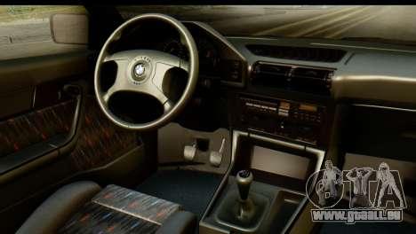 BMW M5 E34 Alpina für GTA San Andreas rechten Ansicht