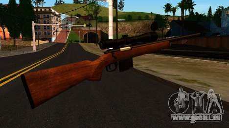Rifle from GTA 4 für GTA San Andreas zweiten Screenshot