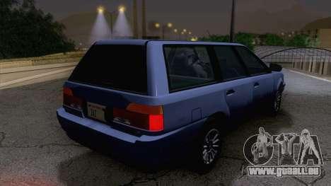 GTA V Ingot pour GTA San Andreas laissé vue