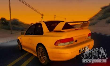 Subaru Impreza 22B STI (KATIL) für GTA San Andreas linke Ansicht