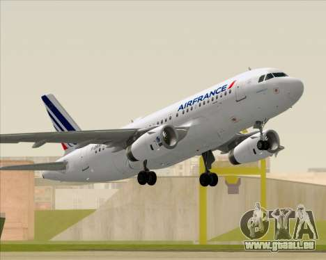 Airbus A319-100 Air France für GTA San Andreas