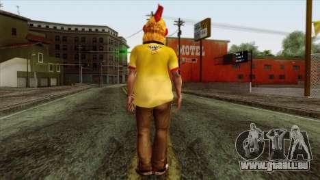 GTA 4 Skin 86 pour GTA San Andreas deuxième écran