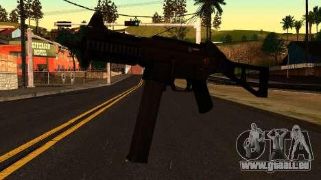 UMP45 from Battlefield 4 v1 für GTA San Andreas