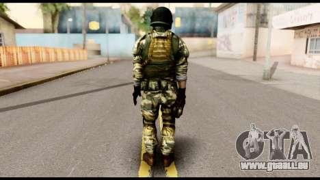 Support Troop from Battlefield 4 v1 pour GTA San Andreas deuxième écran