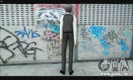 Kaneki Ken (Tokyo Ghoul) für GTA San Andreas dritten Screenshot