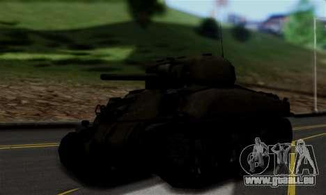 M4 Sherman für GTA San Andreas linke Ansicht
