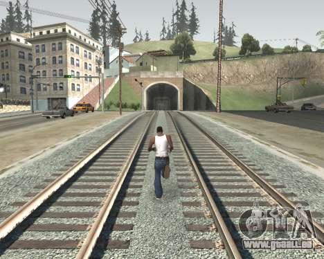 Colormod High Color pour GTA San Andreas deuxième écran