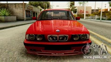 BMW M5 E34 Alpina für GTA San Andreas Rückansicht