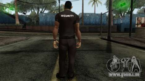 GTA 4 Skin 18 pour GTA San Andreas deuxième écran