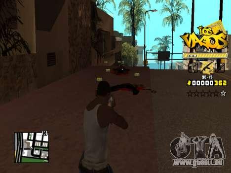 C-HUD Los Santos Vagos Gang pour GTA San Andreas quatrième écran