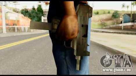 New Micro SMG für GTA San Andreas dritten Screenshot