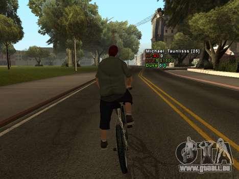 3D HUD CLEO für GTA San Andreas