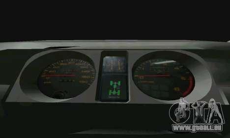 Mitsubishi Pajero Intercooler Turbo 2800 pour GTA San Andreas vue de droite