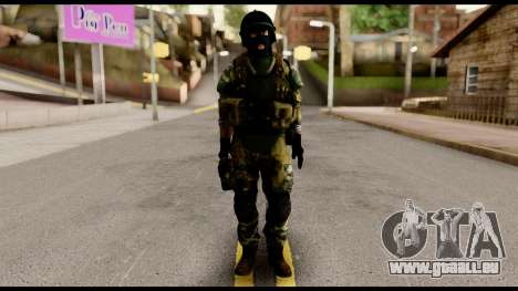 Support Troop from Battlefield 4 v1 pour GTA San Andreas