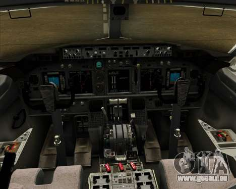 Boeing 737-800 Air Philippines pour GTA San Andreas salon