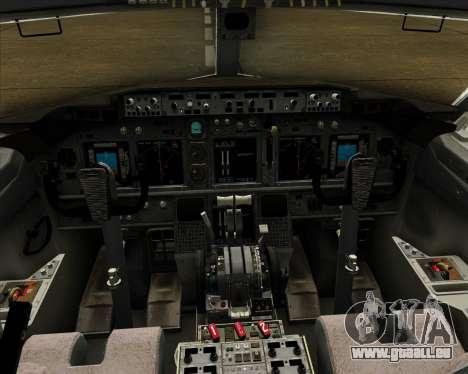 Boeing 737-800 Air Philippines für GTA San Andreas Innen