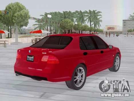Saab 95 pour GTA San Andreas vue arrière