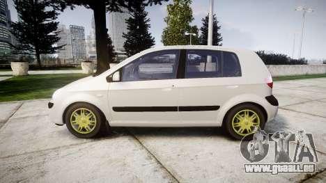 Hyundai Getz 2006 für GTA 4 linke Ansicht