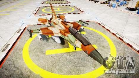 Lockheed F-16I Sufa Storm pour GTA 4
