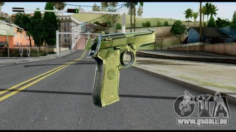Beretta from Max Payne pour GTA San Andreas deuxième écran