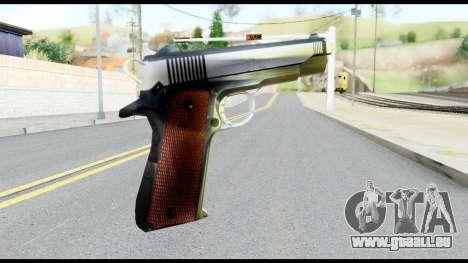 Colt 1911A1 from Metal Gear Solid für GTA San Andreas zweiten Screenshot