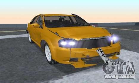 Chevrolet Lacetti für GTA San Andreas rechten Ansicht