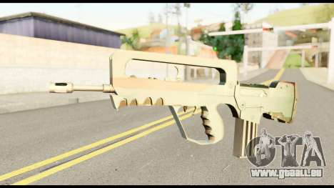 Famas from Metal Gear Solid pour GTA San Andreas