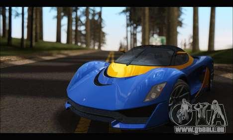 Grotti Turismo R v2 (GTA V) für GTA San Andreas