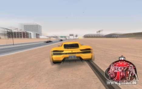Noël de l'indicateur de vitesse de 2015 pour GTA San Andreas troisième écran