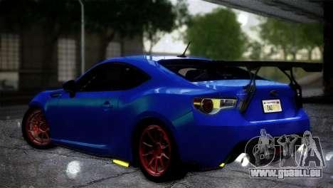Subaru BRZ Drift Built für GTA San Andreas linke Ansicht