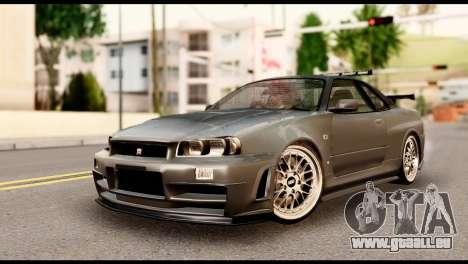 Nissan Skyline R34 Z pour GTA San Andreas