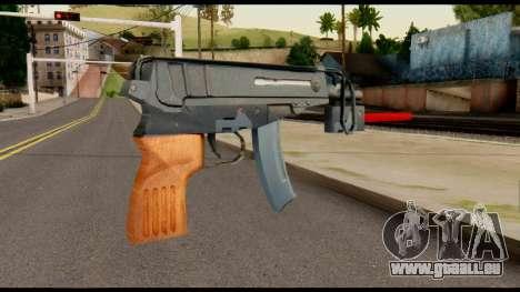 Scorpion from Metal Gear Solid pour GTA San Andreas deuxième écran