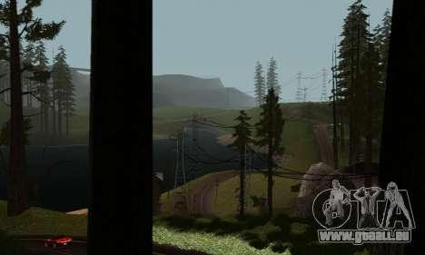 ENBSeries v6 By phpa pour GTA San Andreas cinquième écran