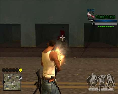 C-HUD Excellent für GTA San Andreas zweiten Screenshot