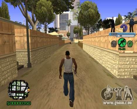 C-HUD FBI pour GTA San Andreas
