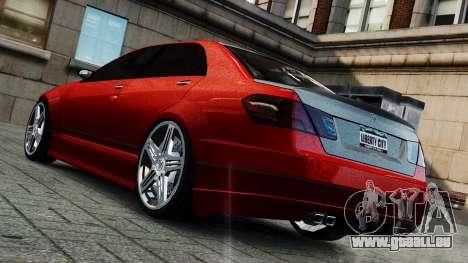 Schafter Gen. 2 Grey Series pour GTA 4 Vue arrière de la gauche