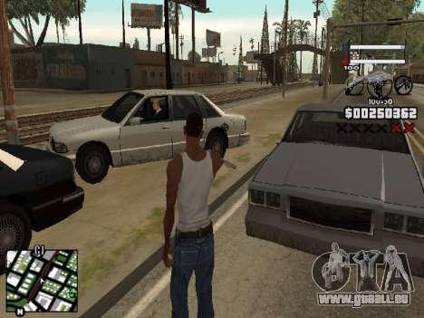 Nice C-HUD pour GTA San Andreas deuxième écran