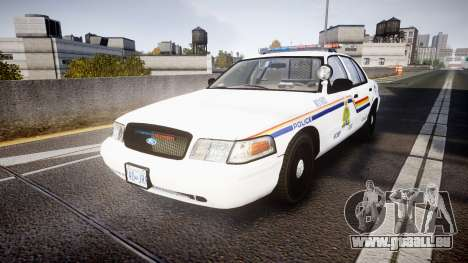 Ford Crown Victoria Canada Police [ELS] pour GTA 4