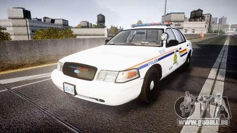 Ford Crown Victoria Canada Police [ELS] für GTA 4