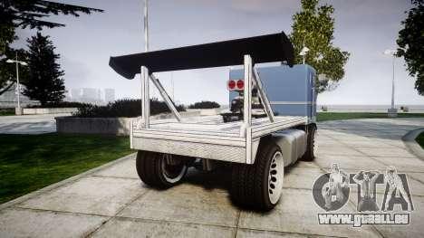 MTL Packer Hooning pour GTA 4 Vue arrière de la gauche