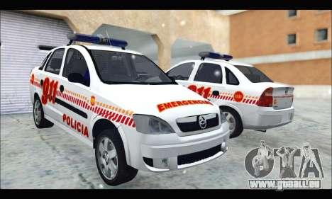 Chevrolet Corsa Premium Policia de Salta pour GTA San Andreas