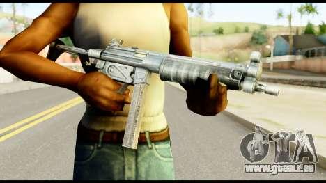 MP5 avec Décomposé Cul pour GTA San Andreas troisième écran