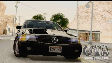 Mercedes-Benz 500SL R129 1992 pour GTA San Andreas