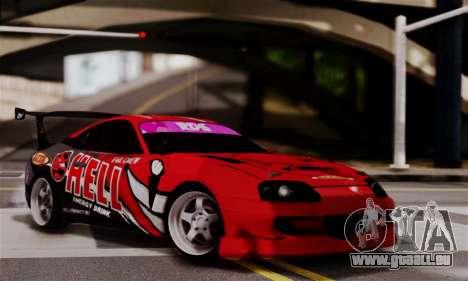 Toyota Supra HELL DT für GTA San Andreas